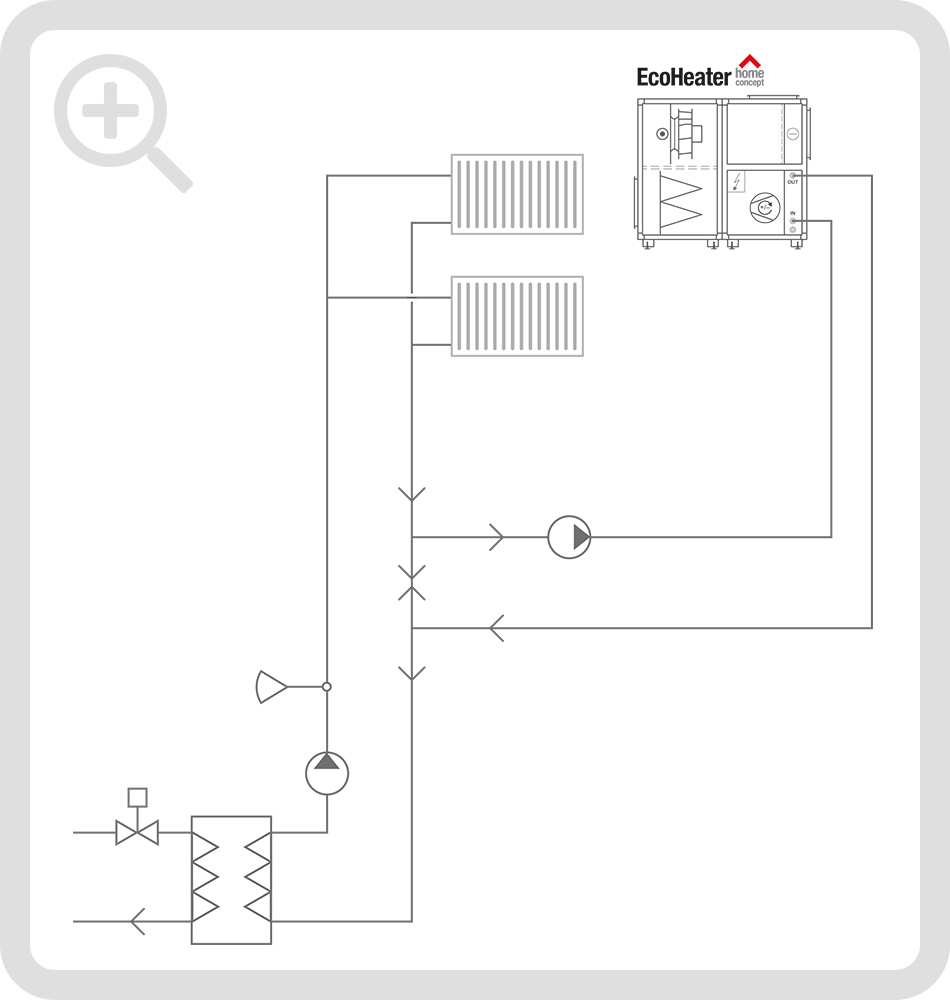 Schematic connection diagram 1