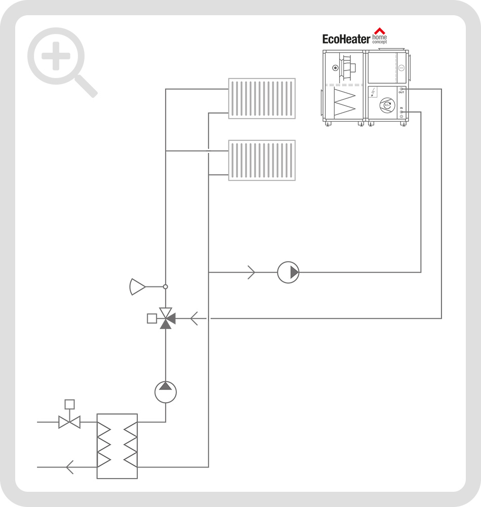 Schematic connection diagram 2