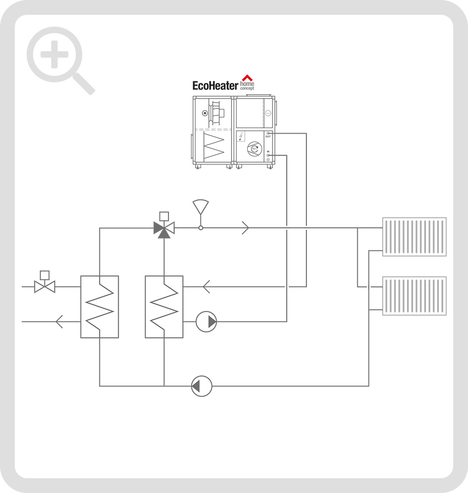 Schematic connection diagram 4